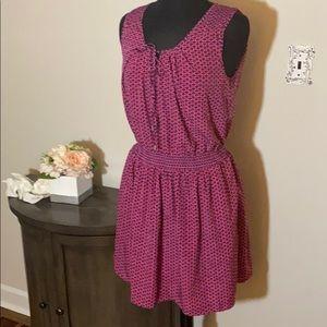 GAP Dresses - Trendy light weight stretch waist gap pink dress